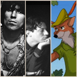 Young Keith Richards, Duncan Grant, Disney's Robin Hood