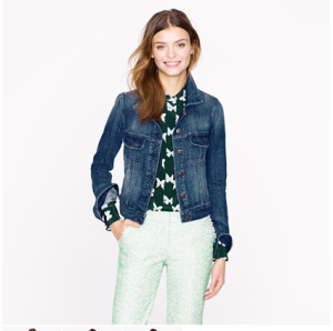 The jacket I bought from Jcrew